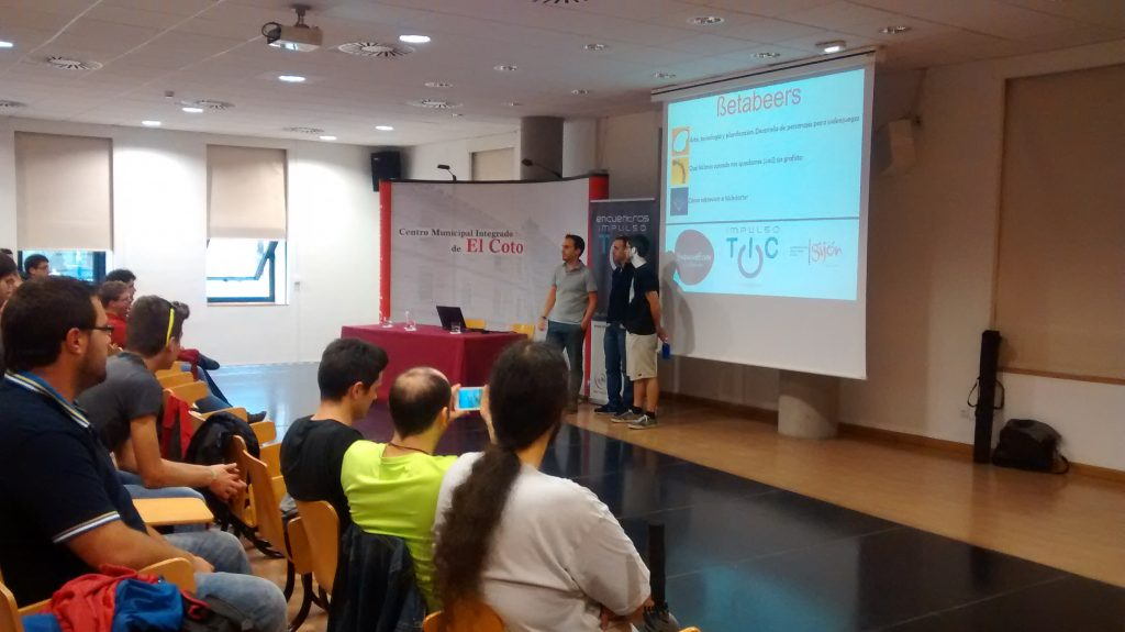 Presentación del evento