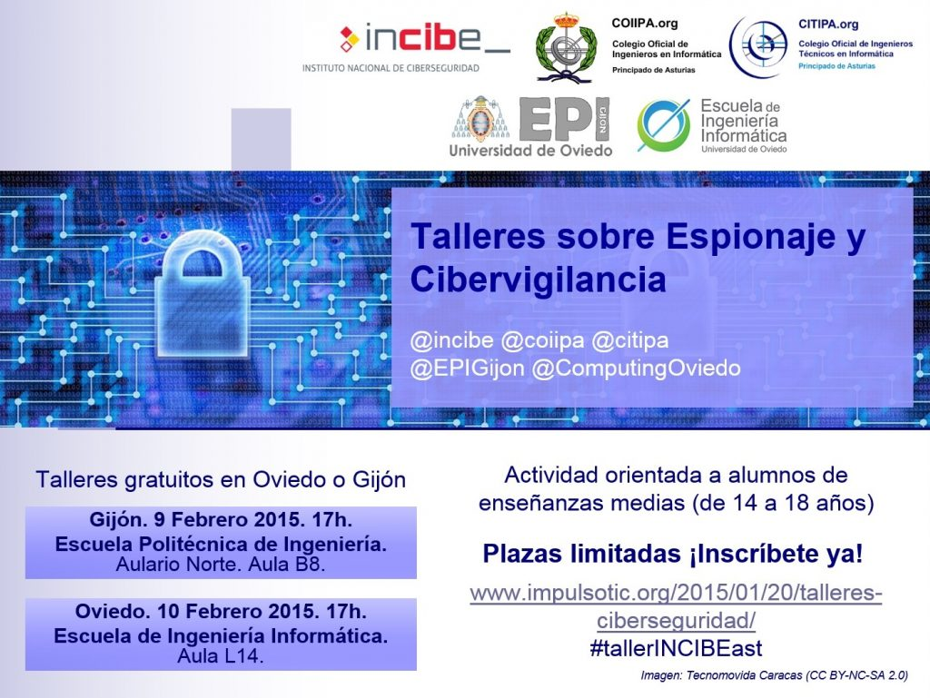 201501 Talleres INCIBE - Cartel