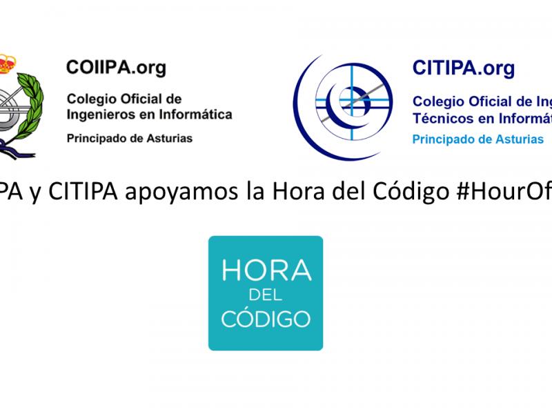 COIIPA y CITIPA apoyan la Hora del Código