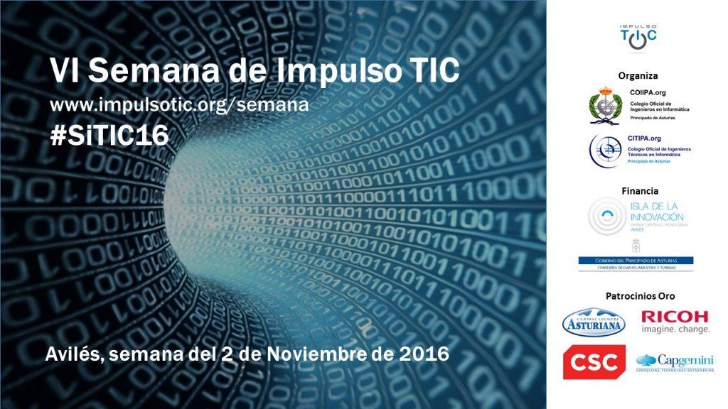 Cartel Semana Impulso TIC 2016