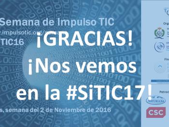 #SiTIC16 - Gracias