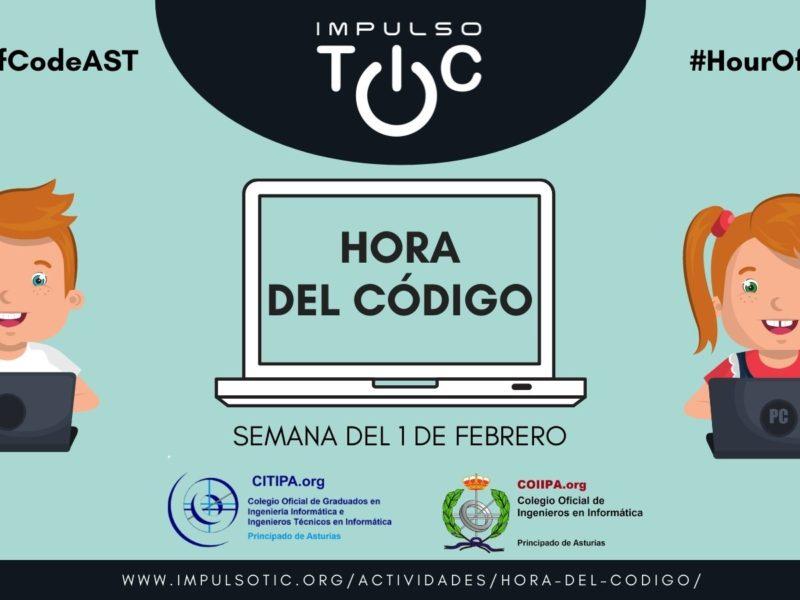 Cartel de la hora del código, Asturias